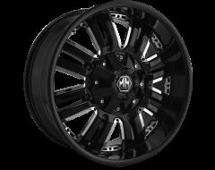 Mayhem ASSAULT 8070 Series Wheels - black