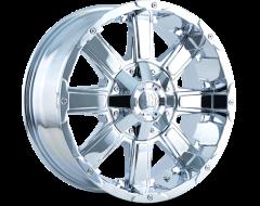 Mayhem CHAOS 8030 Series Wheels - chrome