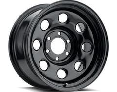 Vision Wheels 85 Soft 8 - Gloss Black