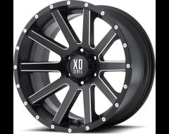XD Series Wheels XD818 HEIST - Satin Black - Milled