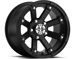 Vision Wheels 393 Lock Out - Matte black