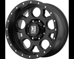 XD Series XD126 ENDURO PRO Series Wheels - Satin black with reinforcing ring