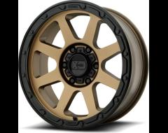 XD Series Wheels XD134 ADDICT 2 - Matte Bronze - Matte black lip