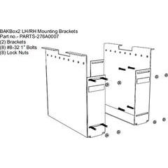 BAK Industries BAKBox 2 Replacement Large End Plates