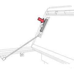 BAK Industries BAKFlip Slide Locks