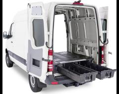 Decked Cargo Van Storage System