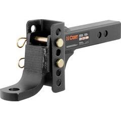Curt Channel Style Adjustable Ball Mount Tongue