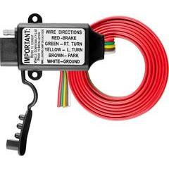Curt Non-Powered 3-to-2-Wire Taillight Converter
