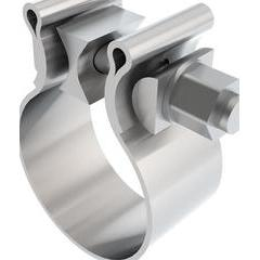 Borla AccuSeal Stainless Single Bolt Band Clamp