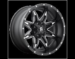 Fuel Off-Road Wheels D567 LETHAL - Matte Black - Milled