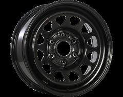 RNB Wheels Black Armour Coat Steel Wheel