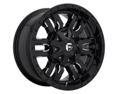 Fuel Off-Road Wheels D595 SLEDGE - Gloss Black Milled