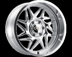 Cali Off-Road Wheels 9112 Series Polished/Milled Spokes Gemini
