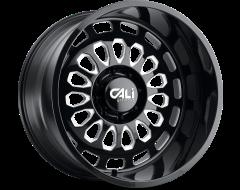 Cali Off-Road Wheels 9113 Series Gloss Black/Milled Spokes Paradox