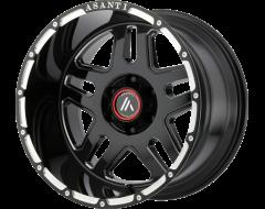 Asanti Wheels Enforcer Series Black Ab809 Enforcer