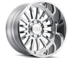 Cali Off-Road Wheels 9110D Series Polished/Milled Spokes Summit