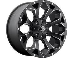 Fuel Off-Road Wheels D546 ASSAULT - Matte Black - Milled