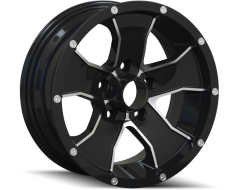 Ion Wheels 14 Series - Black - Machined Face