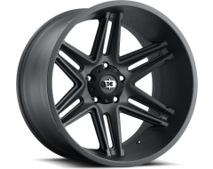 Vision Wheels 363 Razor - Satin Black