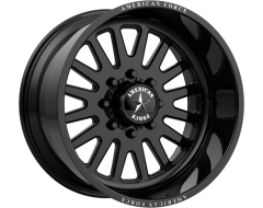 American Force Wheels AFW F20 ATOM SS - Gloss Black - Machined