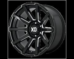 XD Series Wheels XD847 OUTBREAK - Satin Black - Grey Tint