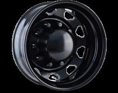 Ion Wheels IB02 Series - Rear Black - Milled spokes