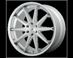 Asanti Wheels ABL-29 EMPEROR - Brushed Silver - Chrome Lip