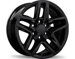 Replika Wheels R245 Series - Gloss Black