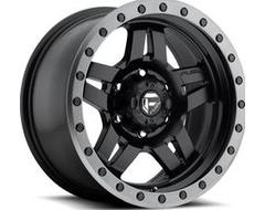 Fuel Off-Road Wheels D557 ANZA - Matte Black - Gunmetal ring
