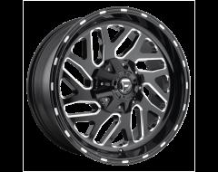 Fuel Off-Road Wheels D581 TRITON - Gloss Black Milled