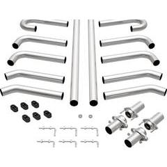 MagnaFlow Hot Rod Universal Bend Exhaust System