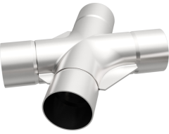 MagnaFlow Universal Tru-X Stainless Steel Crossover Pipe