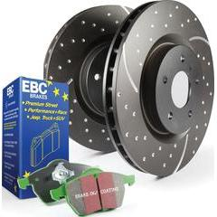 EBC Brakes Stage 10 Brake Kit - Greenstuff 2000 Pads and GD Rotors