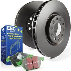 EBC Brakes Stage 14 Brake Kit - Greenstuff Sport Pads and RK Rotors