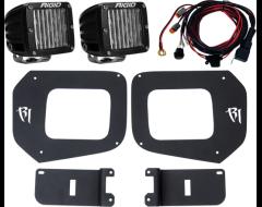 Rigid Industries Bumper Mounted LED Fog Light Kit