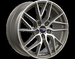 EURO DESIGN Wheels Tech - Matte Bronze - Machined