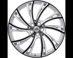 Redbourne Wheels NOBLE - Gloss Titanium - Gloss Black Face