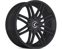 Kraze Wheels CRAY KR141 Series - Satin Black