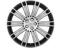 Redbourne Wheels MANOR - Matte Black - Matte machined face