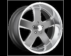 US MAG Wheels U118 HUSTLER - Matte Gunmetal