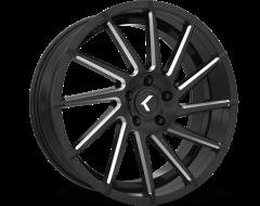 Kraze Wheels SPINNER KR181 Series - Black - Machined