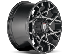 AMERICAN TRUXX GRIDLOCK AT1901 Series - Black - Machined
