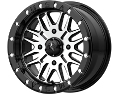 MSA Wheels M37 BRUTE BEADLOCK - Gloss Black - Machined