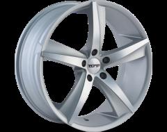 Touren Wheels TR72 3272 Series - Gloss Silver - Machined Face