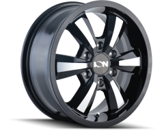 Ion Wheels 103 Series - Gloss Black - Machined Face