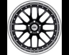 TSW Wheels VALENCIA - Gloss Black - Mirror cut lip