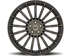 TSW Wheels LUCO - Matte Black - Machined face and dark tint