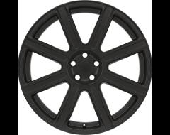 Redbourne Wheels WILKS - Matte Black - Gloss Black Face