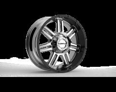 Krank Wheels Force - Chrome Gloss Black barrel