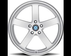 Beyern Wheels RAPP - Silver - Mirror cut lip